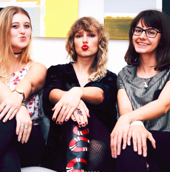Taylor Swift and fans