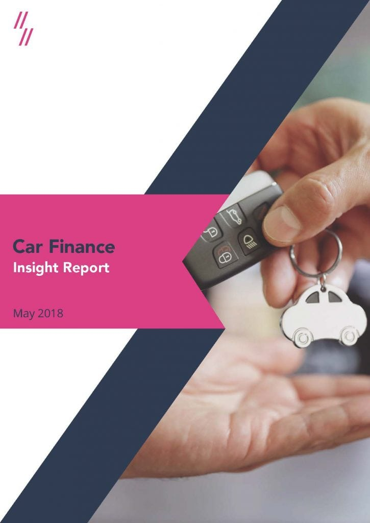 Car finance market performance report cover